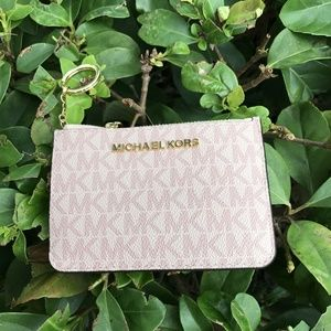 Michael Kors Signature Coin Key Chain Wallet